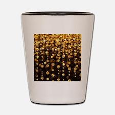Gold Sparkles Shot Glass