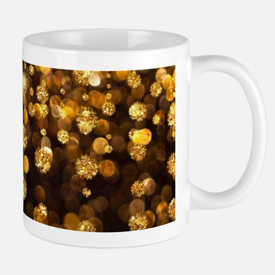 Gold Sparkles Mugs