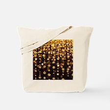 Gold Sparkles Tote Bag