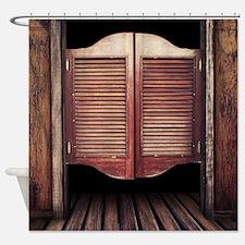 Wild West Saloon Door Shower Curtain