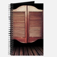 Wild West Saloon Door Journal