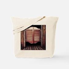 Wild West Saloon Door Tote Bag
