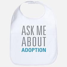Ask Me About Adoption Bib