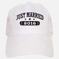 Just Married 2016 Baseball Baseball Cap
