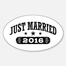 Just Married 2016 Decal
