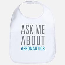 Ask Me About Aeronautics Bib