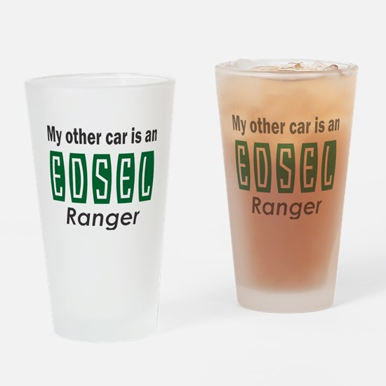 My other car is an Edsel Ranger Drinking Glass