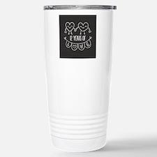 12th Anniversary Gift C Travel Mug