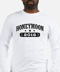 Honeymoon 2016 Long Sleeve T-Shirt