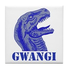 Blue Gwangi Tile Coaster