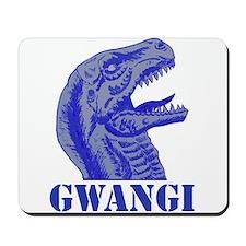 Blue Gwangi Mousepad