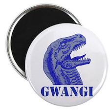 "Blue Gwangi 2.25"" Magnet (100 pack)"