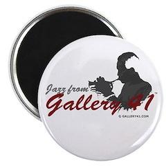 Jazz from Gallery 41 Logo Var Magnet