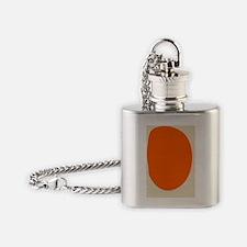 Unique Mid century Flask Necklace