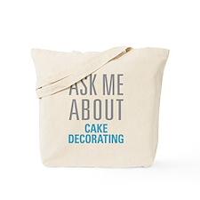 Cake Decorating Tote Bag