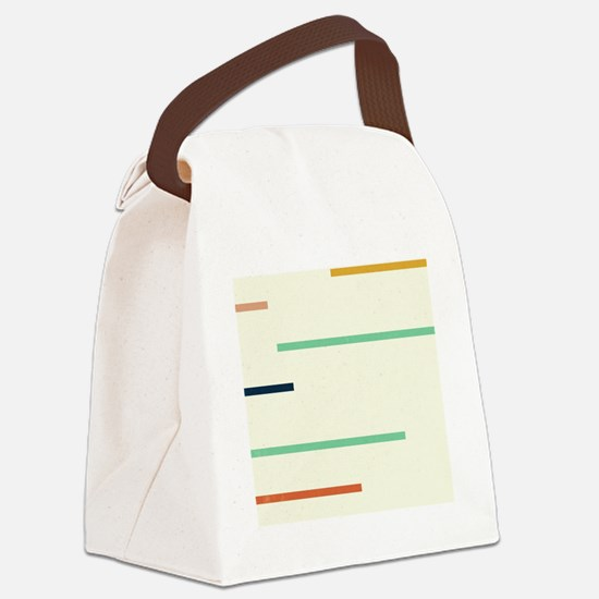 Cute Century artists. Canvas Lunch Bag