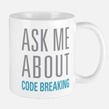 Code Breaking Mugs