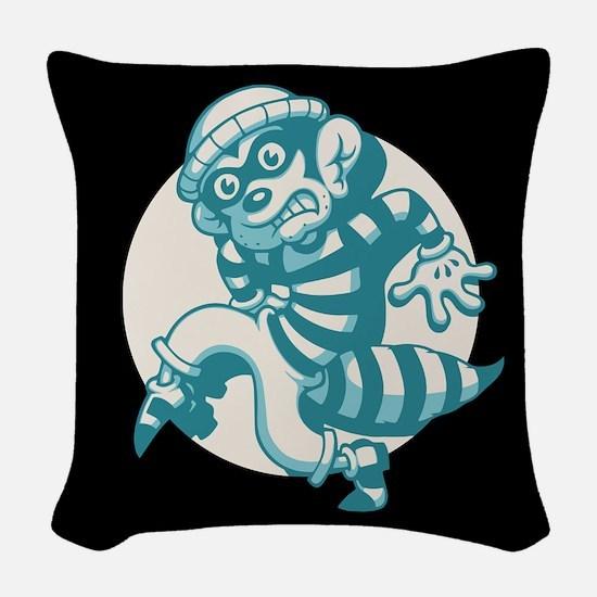 Bandit Woven Throw Pillow