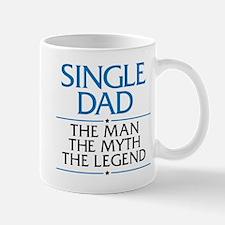 Single Dad Man Myth Legend Mugs