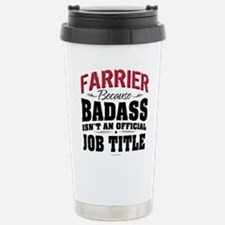 Badass Farrier Stainless Steel Travel Mug