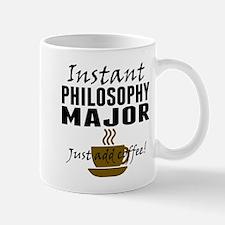 Instant Philosophy Major Just Add Coffee Mugs