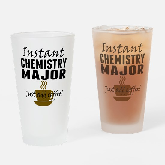Instant Chemistry Major Just Add Coffee Drinking G