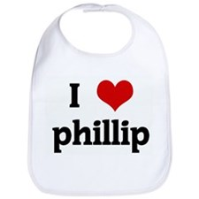 I Love phillip Bib