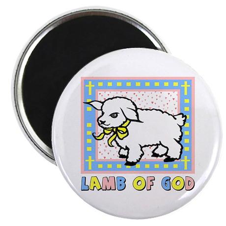 "Lamb of God 2.25"" Magnet (10 pack)"