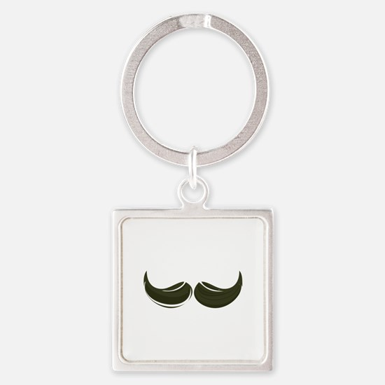 Moustache Keychains