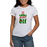 Christmas aunt Women's T-Shirt