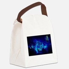 Journey to Neverland Canvas Lunch Bag