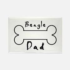 Beagle Dad Magnets