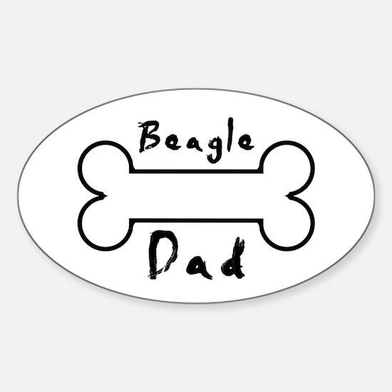 Beagle Dad Decal
