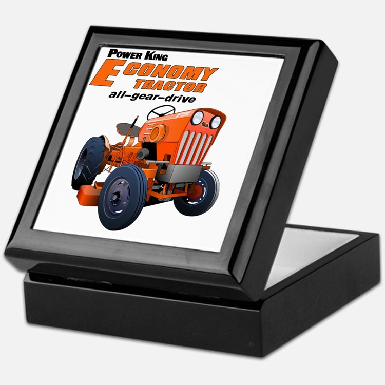 Cute Garden tractor Keepsake Box