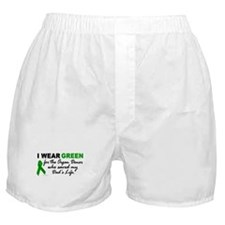 I Wear Green (Saved My Dad's Life) Boxer Shorts