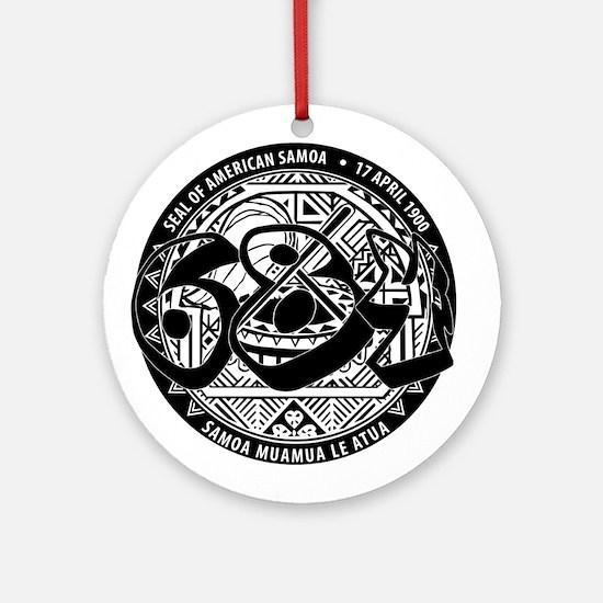 Seal of American Samoa Round Ornament