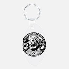 Seal of American Samoa Keychains