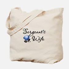 Sergeant's Wife Tote Bag