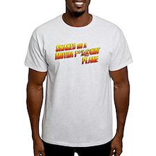 Cute Snakes plane T-Shirt