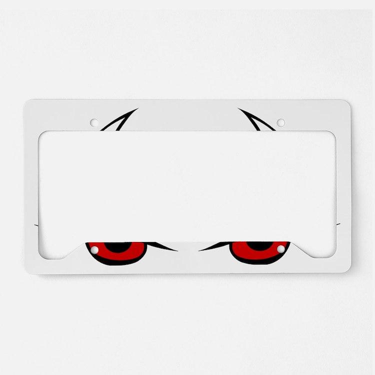 Cute Halloween License Plate Holder