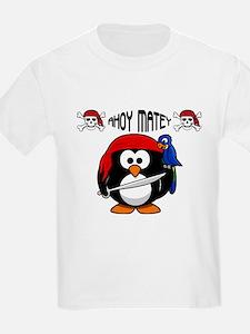 Ahoy Matey Penguin T-Shirt