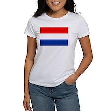 Dutch (Netherlands) Flag Tee