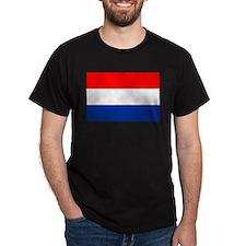 Dutch (Netherlands) Flag T-Shirt
