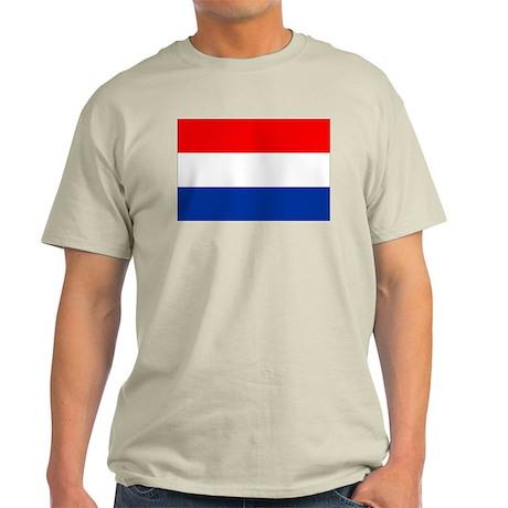 Dutch (Netherlands) Flag Light T-Shirt