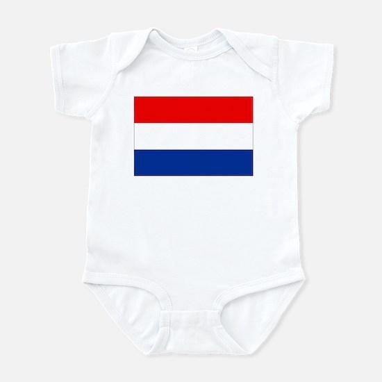 Dutch (Netherlands) Flag Infant Bodysuit