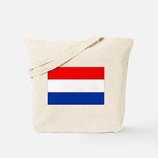 Dutch (Netherlands) Flag Tote Bag