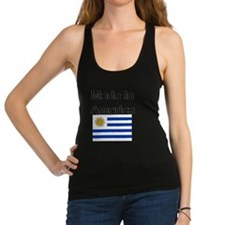 Cute Uruguay flag Racerback Tank Top