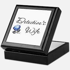 Detective's Wife Keepsake Box