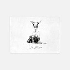 Little Lamb Lambikins 5'x7'Area Rug