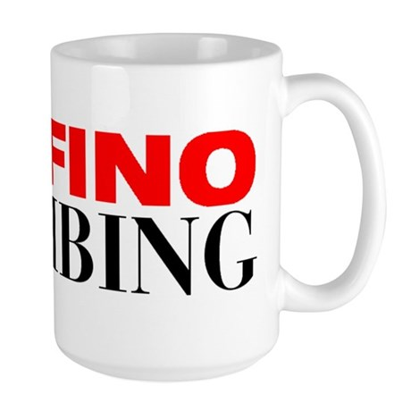 Delfino Plumbing Large Mug